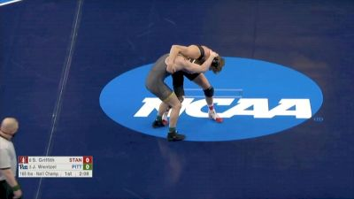 165 final, Shane Griffith, Stanford vs Jake Wentzel, Pitt
