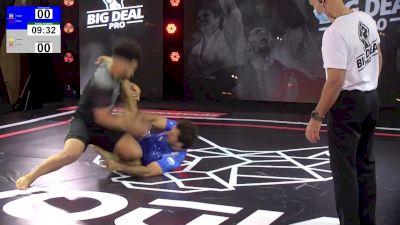 No-Gi Scrap: Bahiense Fends Off Leg Attacks at Big Deal Pro