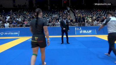 JORDAN ELIZABETH PATRICK vs ELISABETH ANN CLAY 2021 World IBJJF Jiu-Jitsu No-Gi Championship