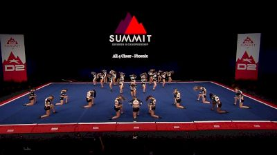 All 4 Cheer - Phoenix [2021 L4.2 Senior - Medium Semis] 2021 The D2 Summit