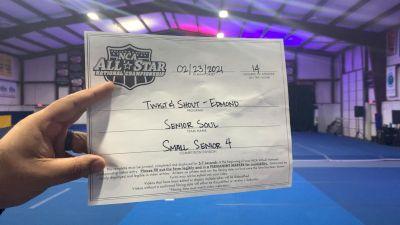 Twist & Shout - Edmond - Senior Soul [L4 Senior - Small - A] 2021 NCA All-Star Virtual National Championship
