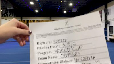 World Cup - Odyssey [L6 Senior Coed - Small] 2021 Beast of The East Virtual Championship