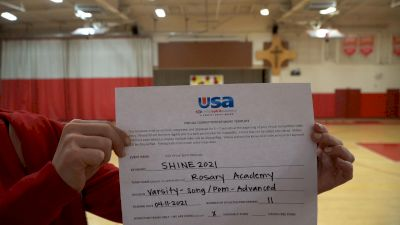 Rosary Academy [Varsity - Song/Pom - Advanced] USA Spirit & Dance Virtual National Championships
