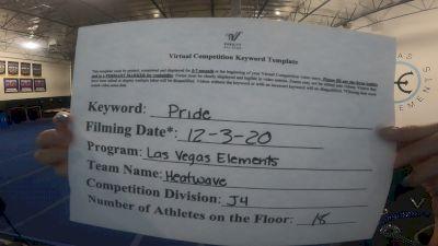 Las Vegas Elements - Heatwave [L4 Junior - D2] 2020 WSF All Star Cheer & Dance Virtual Championship