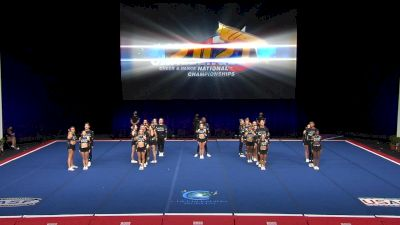 Cheer Extreme - Raleigh - Code Black [2021 L6 International Open Coed Non Tumbling Finals] 2021 The Cheerleading Worlds