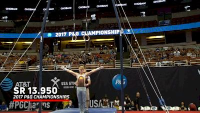 Shane Wiskus Over The Years On Still Rings At US Championships