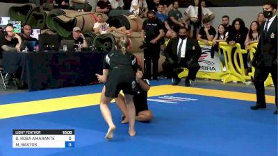 Mayssa Bastos vs Sofia Amarante 2021 Pan IBJJF Jiu-Jitsu No-Gi Championship Flozone