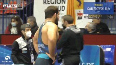 70 kg Bronze - George Bucur, Romania vs Vasile Diacon, Moldova