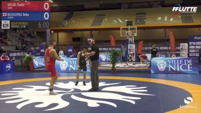 57 kg Quarterfinal - Beka Bujiashvili, Georgia vs Chakir Ansari, Morocco