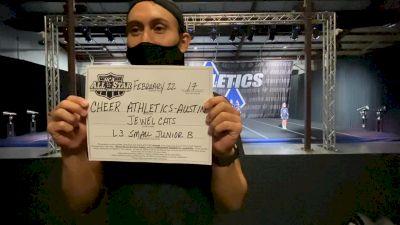 Cheer Athletics - Austin - JewelCats [L3 Junior - Small - B] 2021 NCA All-Star Virtual National Championship