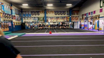 Tri-Town Competitive Cheerleading - Lady Lightning [L3 Performance Recreation - 18 and Younger (NON) - Large] 2021 Varsity Rec, Prep & Novice Virtual Challenge IV