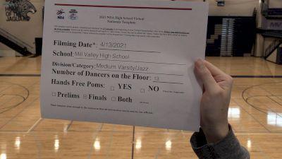 Mill Valley Silver Stars [Virtual Medium Varsity - Jazz Finals] 2021 NDA High School National Championship