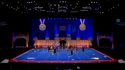 KC Cheer - FIERCE 5 [2021 L6 Senior Coed - Small Day 1] 2021 UCA International All Star Championship