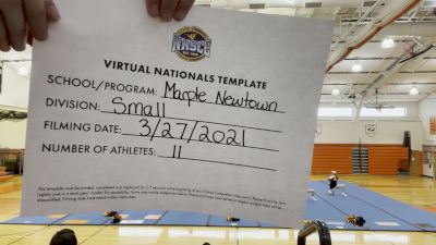 Marple-Newtown High School [Virtual Small Varsity Finals] 2021 UCA National High School Cheerleading Championship