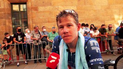 Lawson Craddock: 'I Gave It A Good Go' Stage 21 - 2021 Vuelta A España