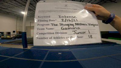 The Stingray All Stars - Gamma [L1 Junior - Small] 2021 Coastal at the Capitol Virtual National Championship
