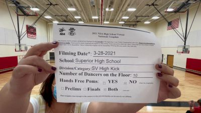 Superior High School [Virtual Small Varsity - Kick Prelims] 2021 NDA High School National Championship