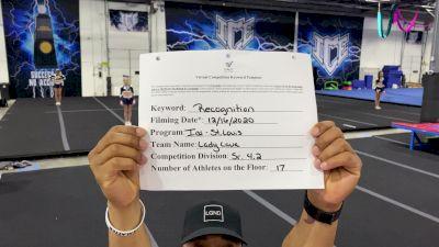 ICE - Lady Lava [All Star L4.2 Senior] 2020 America's Best Virtual National Championship