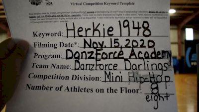 DanzForce Academy [Mini Hip Hop] 2020 NDA November Virtual Championship