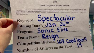 Sonic Elite All Stars - Reign [L4 - U17 Coed] 2021 ATC International Virtual Championship