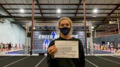 Cheer Athletics - Austin - OnyxCats [L6 Senior Coed - Xsmall] 2021 ATC International Virtual Championship