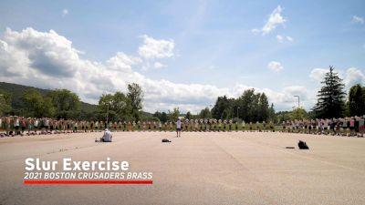 2021 Boston Crusaders Brass - Slur Exercise