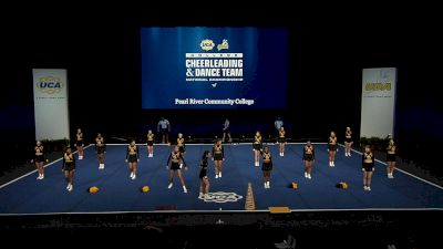 Pearl River Community College [2021 Open All Girl Finals] 2021 UCA & UDA College Cheerleading & Dance Team National Championship
