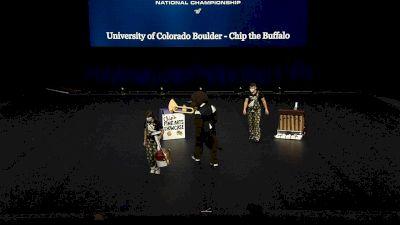 University of Colorado Boulder - Chip the Buffalo [2021 Mascot Finals] 2021 UCA & UDA College Cheerleading & Dance Team National Championship