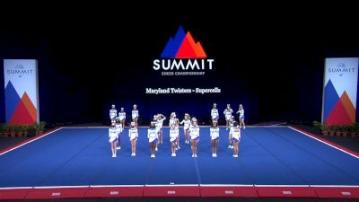 Maryland Twisters - Supercells [2021 L6 Junior - Small Finals] 2021 The Summit