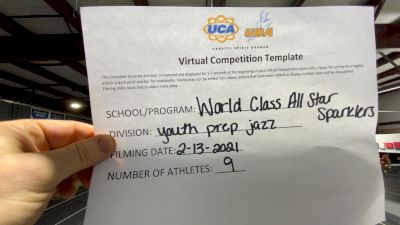 World Class All Star Dance [Youth - Prep - Jazz] 2021 UDA Spirit of the Midwest Virtual Challenge