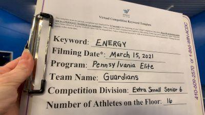 Pennsylvania Elite Cheerleading - Guardians [L6 Senior - Xsmall] 2021 Beast of The East Virtual Championship