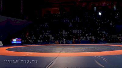 92 kg Quarterfinal, Azamat Zakuev vs Yuri Ivanov