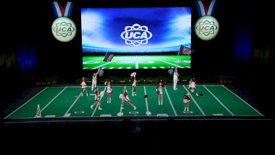 Sparkman High School [2021 Small Junior Varsity Game Day Finals] 2021 UCA National High School Cheerleading Championship