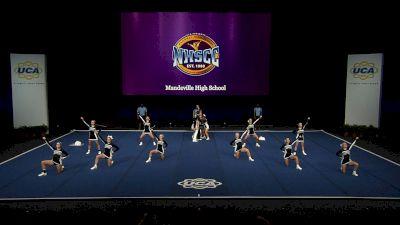 Mandeville High School [2021 Small Coed Non Tumbling Semis] 2021 UCA National High School Cheerleading Championship