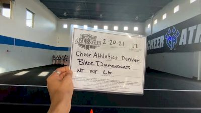 Cheer Athletics - Denver - Black Diamond Cats [L6 International Open - NT] 2021 NCA All-Star Virtual National Championship