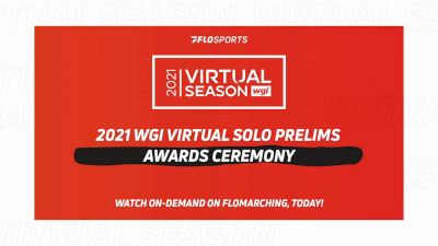 RESULTS: 2021 WGI Virtual Solo Prelims Awards Ceremony