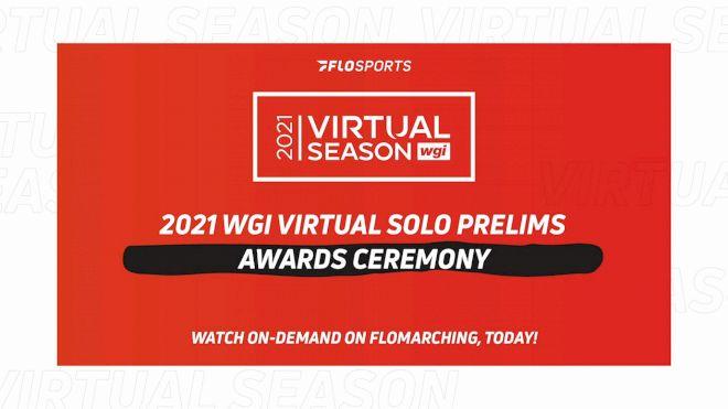 RESULTS: 2021 WGI Virtual Solo Prelims Awards Ceremony