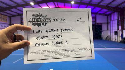 Twist & Shout - Edmond - Junior Glory [L4 Junior - Medium - A] 2021 NCA All-Star Virtual National Championship