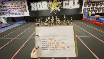 Nor Cal Elite All Stars - Hercules [L2 Junior - Non-Building] 2021 The Regional Summit Virtual Championships