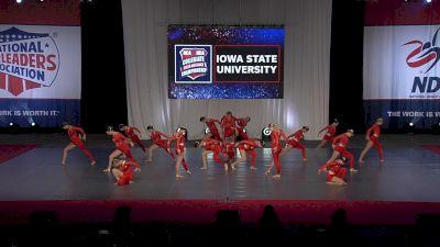 Iowa State University [2021 Team Performance Division IA Finals] 2021 NCA & NDA Collegiate Cheer & Dance Championship