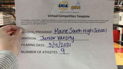 Maine South High School [Junior Varsity - Pom Virtual Semi Finals] 2021 UDA National Dance Team Championship