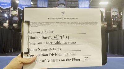 Cheer Athletics - Bobcats [L1 Mini - Medium] 2021 The Regional Summit Virtual Championships