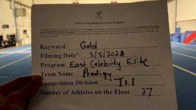 East Celebrity Elite [L1.1 Junior - PREP] 2021 Varsity Virtual Competition Series - Prep & Novice I
