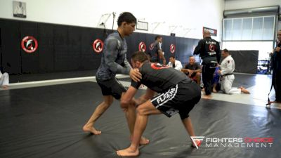 Mica Galvao Spars Top Fight Sports Purple Belt Felipe Porto