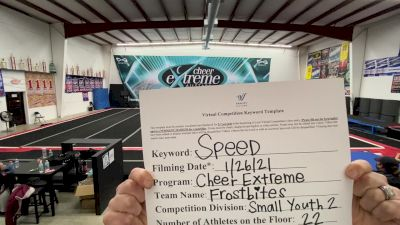 Cheer Extreme - Kernersville - Frostbites [L2 Youth - Small] 2021 Varsity All Star Winter Virtual Competition Series: Event I
