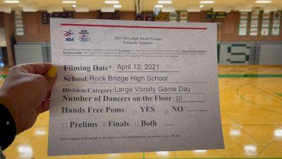Rock Bridge High School [Virtual Varsity - Game Day - Large Finals] 2021 NDA High School National Championship
