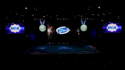 University Cheer Force - Black Ice [2021 L3 Senior (5-18) Day 2] 2021 UCA International All Star Championship