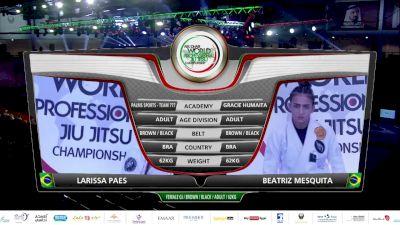 Beatriz Mesquita vs Larissa Paes 2020 Abu Dhabi World Pro