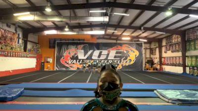 Cheer Coast Tropics - Riptide [L1 Youth - D2 - Small - B] 2021 NCA All-Star Virtual National Championship