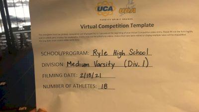 Ryle High School [Medium Varsity] 2021 UCA February Virtual Challenge